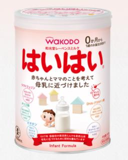 赤ちゃんの粉ミルク!口コミで人気のおすすめ商品7選 和光堂レーベンスミルク「はいはい」