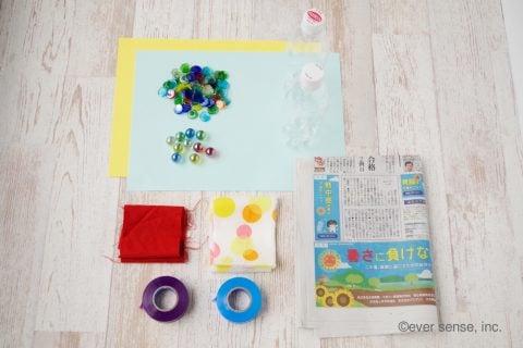 新聞紙 簡単工作 幼児向け おもちゃ 手作り 輪投げ 材料