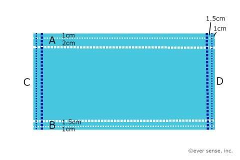 授乳ケープ 作り方 図