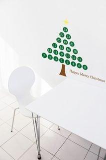 要出典 アドベントカレンダー クリスマスツリー アドベントカレンダー ウォールステッカー