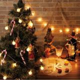 要出典 クリスマス 飾り オーナメント クリスマスオーナメント LEDライト10球