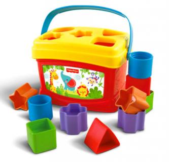 要出典 0歳 1歳 知育玩具 フィッシャープライス はじめてのブロック