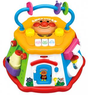 要出典 0歳 1歳 知育玩具 アガツマ アンパンマン おおきなよくばりボックス
