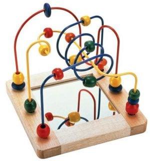 要出典 0歳 1歳 知育玩具 エドインター ビーズコースター