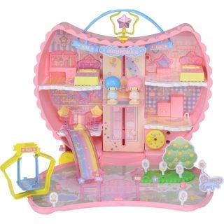 要出典 クリスマスプレゼント 2歳 3歳 女の子 タカラトミー こえだちゃん キキ&ララ 月のおうち