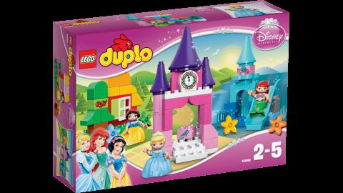 要出典 クリスマスプレゼント 2歳 3歳 女の子 レゴ デュプロ ディズニープリンセス お姫さまセット 10596