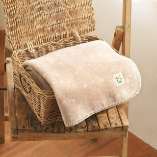 要出典 産休 プレゼント メイド・イン・アース 綿毛布 オーガニックコットン
