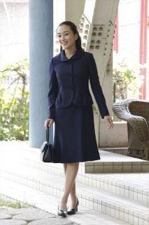 要出典 お受験 スーツ 完全日本製 お母様用 お受験スーツ&選べるサブバッグセット