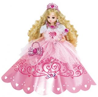 4・5・6歳の女の子に人気 リカちゃん ドール ゆめみるお姫さま ピンクジュエリーリカちゃん