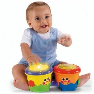 要出典 1歳 おもちゃ フィッシャープライス おいかけて!ボンゴボンゴ