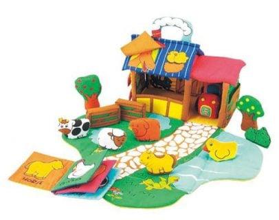 要出典 1歳 おもちゃ エド・インター ふわふわファームハウス