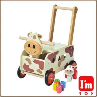 要出典 1歳 おもちゃ エデュテ ウォーカー&ライド カウ