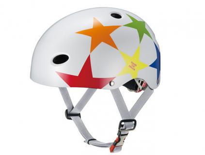 要出典 子供用 ヘルメット オージーケーカブト FR-KIDS スターホワイト