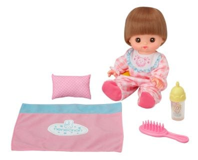 要出典 2歳 誕生日 女の子 プレゼント パイロットインキ メルちゃんのいもうと おめめぱちくりネネちゃん