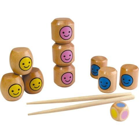 幼稚園・保育園のクリスマスプレゼント交換 500円 おはしあそび (木製玩具)