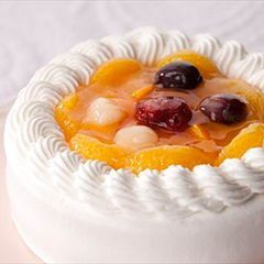 人気のおすすめクリスマスケーキ すこやかフルーツケーキ
