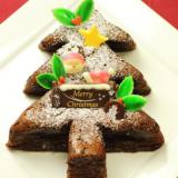 人気のおすすめクリスマスケーキ クリスマスツリーのチョコケーキ