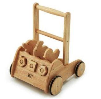 要出典 赤ちゃん 手押し車 野中製作所 木's カタカタ押車