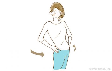 妊娠 産後 ストレッチ イラスト