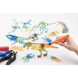 7歳 男の子 プレゼント 3Dドリームアーツペン 恐竜&昆虫セット(4本)