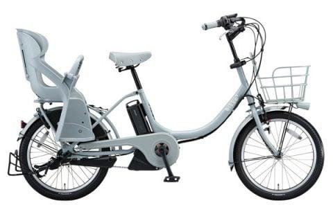 電動自転車 ブリヂストン ビッケ2e リアチャイルドシート付 2016年モデル