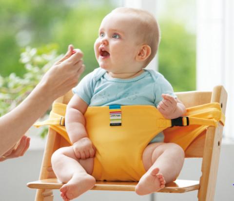 要出典 離乳食の椅子エイテックス キャリフリー チェアベルト