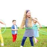 フラフープ 子供 運動