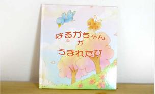 要出典 名入れ 絵本 オリジナル絵本『●●ちゃんがうまれたひ』