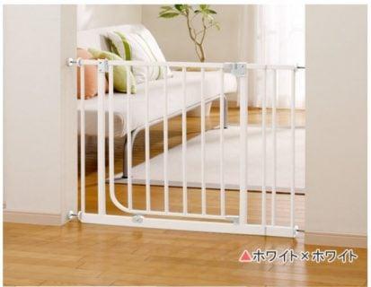 赤ちゃんを守る安全グッズ 日本育児 ベビーズゲート ホワイト