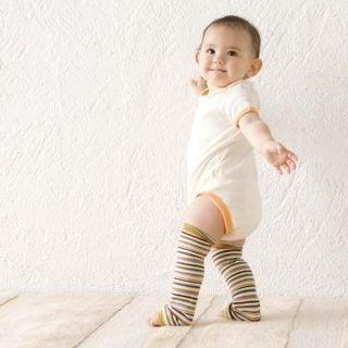 赤ちゃん用レッグウォーマー クォーターリポート ベビーレッグウォーマー ブランチ