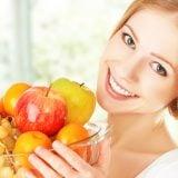 女性 果物 フルーツ
