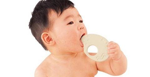 新生児のおもちゃ ピープル お米のシリーズ お米の歯がため