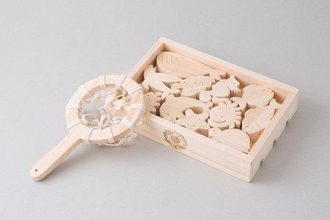 要出典 木のおもちゃ 日本製 木のおもちゃ おふろでちゃぷちゃぷ 型はめ ヒノキ