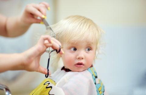 赤ちゃん 散髪 美容院