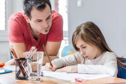 パパ 父親 宿題 勉強 学習サポート