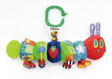 チャイルドシートのおもちゃ 日本育児 エリック・カール はらぺこあおむし ハンギングトイ