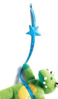 チャイルドシートのおもちゃ リルサイドキック おもちゃホルダー ストラップ
