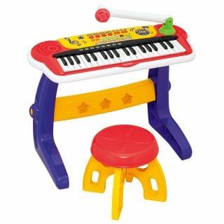 要出典 キーボード おもちゃ ローヤル キッズキーボードDX