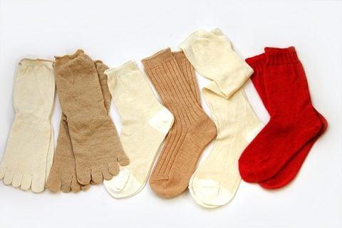 冷えとり靴下  神戸セレクション認定 冷えとり靴下 重ね履き6足セット