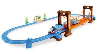 トーマスのおもちゃ タカラトミー プラレール トーマス ぐらぐらつり橋セット
