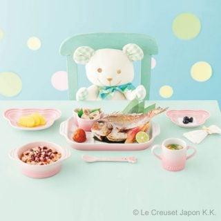 お食い初め用食器 ル・クルーゼ ベビー テーブルウェア セット