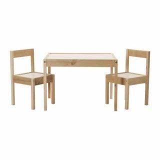要出典 幼児 子供机 椅子 子供机 イケア LATT 子供用テーブル チェア2脚付