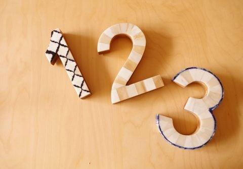 順序 how やり方 数字 123