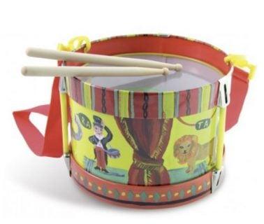 太鼓のおもちゃ ヴィラック 木製おもちゃドラム