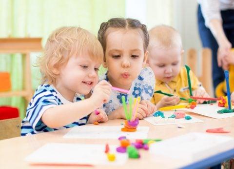 保育園 幼稚園 通園 教室 工作