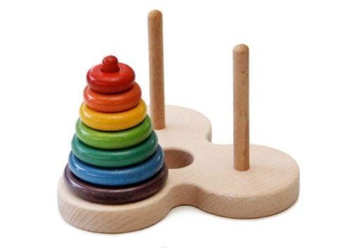 要出典 数字のおもちゃ ハノイの塔