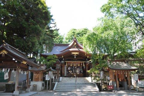 子安神社 東京 七五三