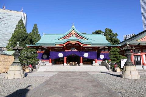 日枝神社 東京 七五三