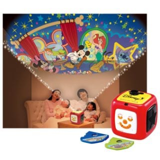 ディズニーのおもちゃタカラトミー ディズニーキャラクターズ 天井いっぱい!!おやすみホームシアター