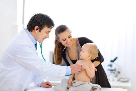 医師 診察 診断 子供 赤ちゃん